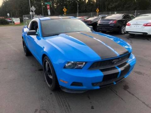 2010 Ford Mustang for sale at ALHAMADANI AUTO SALES in Spanaway WA
