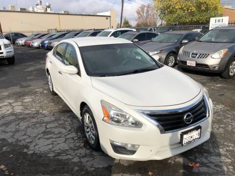 2013 Nissan Altima for sale at 101 Auto Sales in Sacramento CA