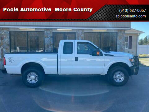 2015 Ford F-250 Super Duty for sale at Poole Automotive -Moore County in Aberdeen NC