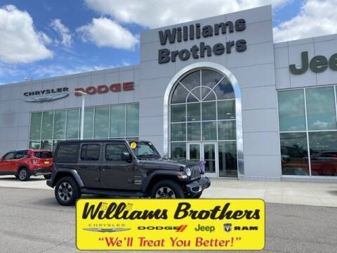 2018 Jeep Wrangler Unlimited for sale at Williams Brothers - Pre-Owned Monroe in Monroe MI