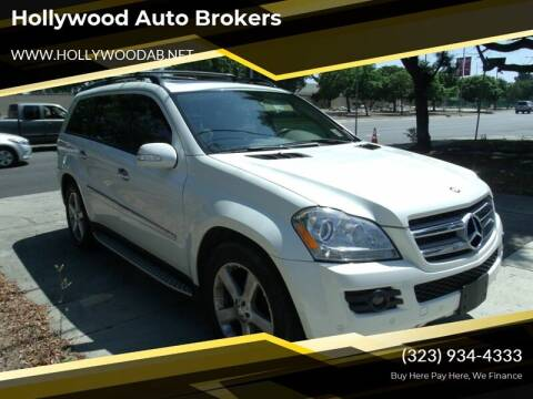 2008 Mercedes-Benz GL-Class for sale at Hollywood Auto Brokers in Los Angeles CA