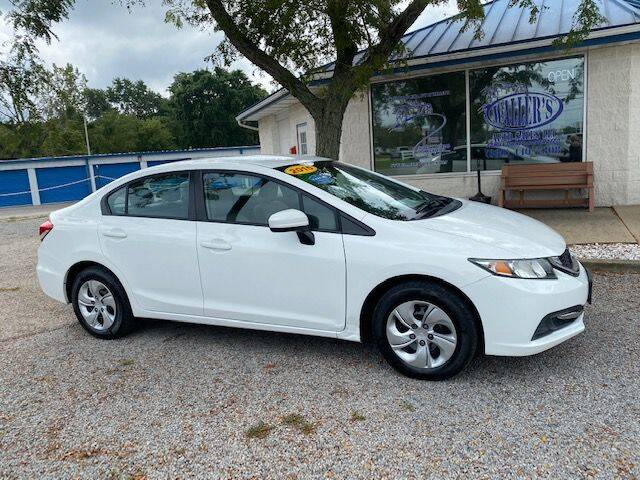 2015 Honda Civic for sale at Wallers Auto Sales LLC in Dover OH