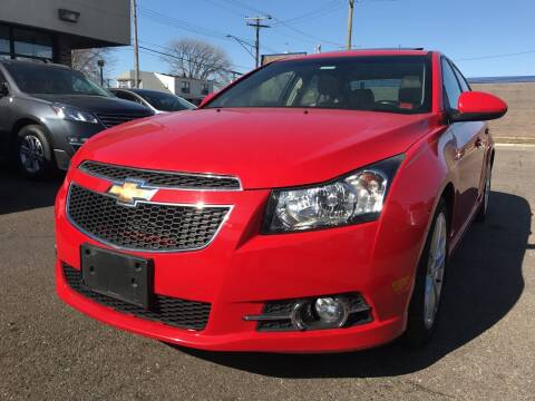 2014 Chevrolet Cruze for sale at GREAT DEAL AUTO SALES in Center Line MI