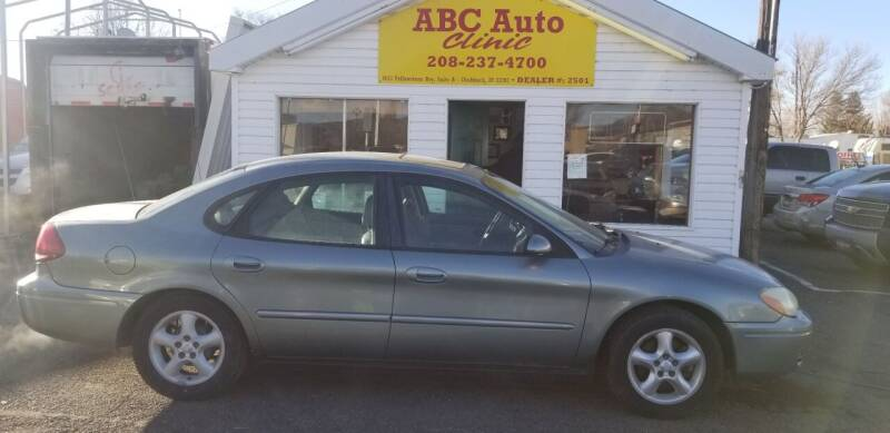 2006 Ford Taurus for sale at ABC AUTO CLINIC in American Falls ID