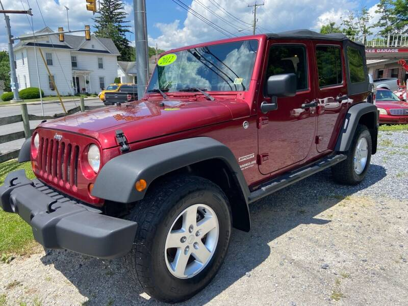 2012 Jeep Wrangler Unlimited for sale at THE AUTOMOTIVE CONNECTION in Atkins VA