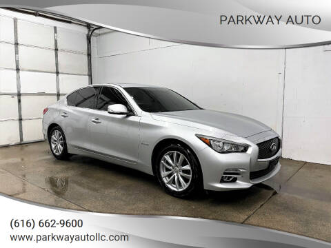 2014 Infiniti Q50 Hybrid for sale at PARKWAY AUTO in Hudsonville MI