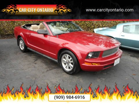 2008 Ford Mustang for sale at Car City Ontario in Ontario CA