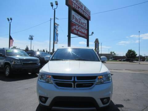 2013 Dodge Journey for sale at Bi-Rite Auto Sales in Clinton Township MI