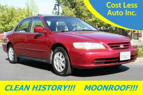 2002 Honda Accord for sale at Cost Less Auto Inc. in Rocklin CA