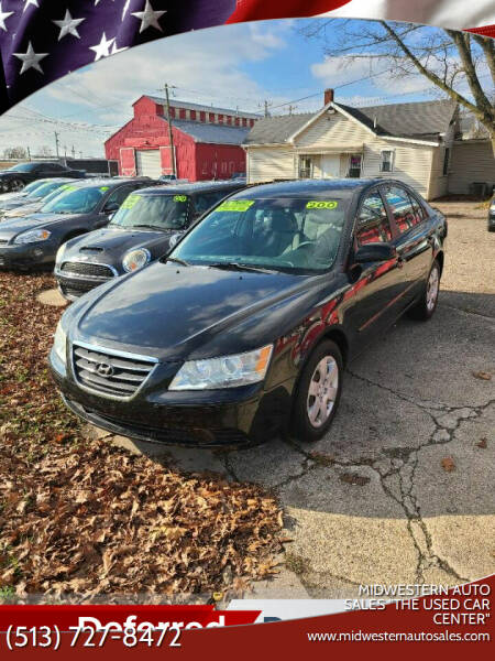 "2009 Hyundai Sonata for sale at MIDWESTERN AUTO SALES        ""The Used Car Center"" in Middletown OH"