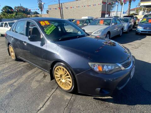 2008 Subaru Impreza for sale at North County Auto in Oceanside CA