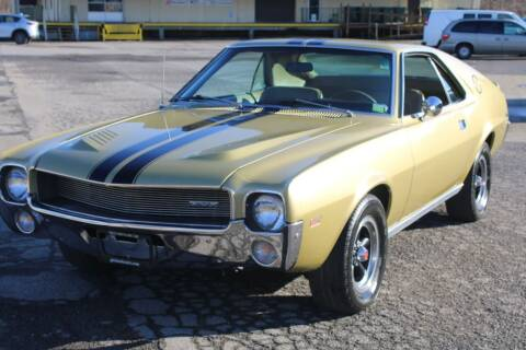 1968 AMC AMX for sale at Great Lakes Classic Cars & Detail Shop in Hilton NY