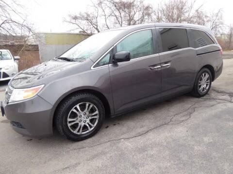 2013 Honda Odyssey for sale at John Lombardo Enterprises Inc in Rochester NY