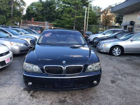 2007 BMW 7 Series for sale at Six Brothers Auto Sales in Youngstown OH