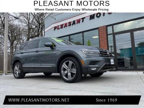 2018 Volkswagen Tiguan for sale at Pleasant Motors in New Bedford MA
