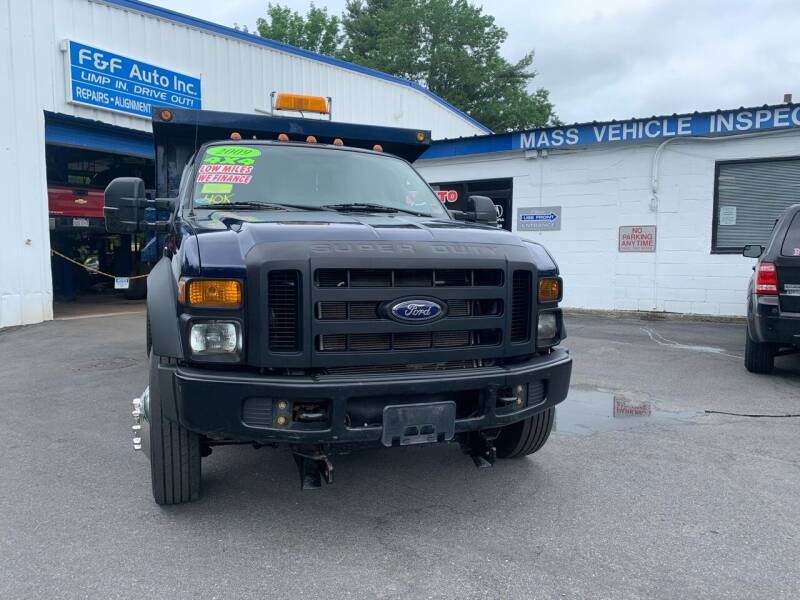 2009 Ford F-450 Super Duty for sale at F&F Auto Inc. in West Bridgewater MA