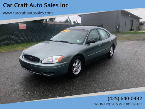 2006 Ford Taurus for sale at Car Craft Auto Sales Inc in Lynnwood WA