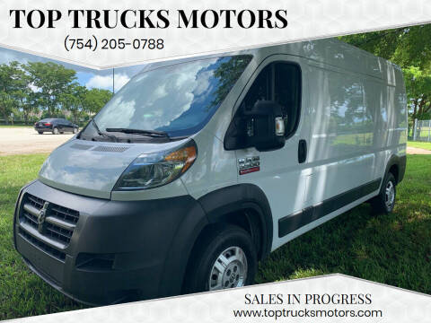 2014 RAM ProMaster Cargo for sale at Top Trucks Motors in Pompano Beach FL