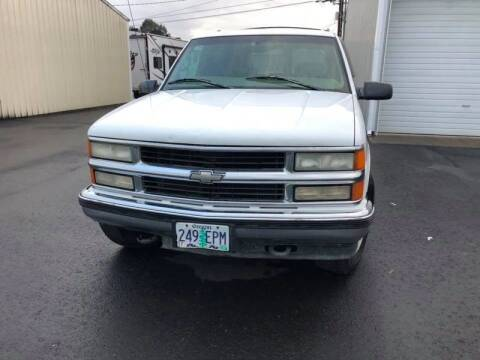 1999 Chevrolet Tahoe for sale at McMinnville Auto Sales LLC in Mcminnville OR