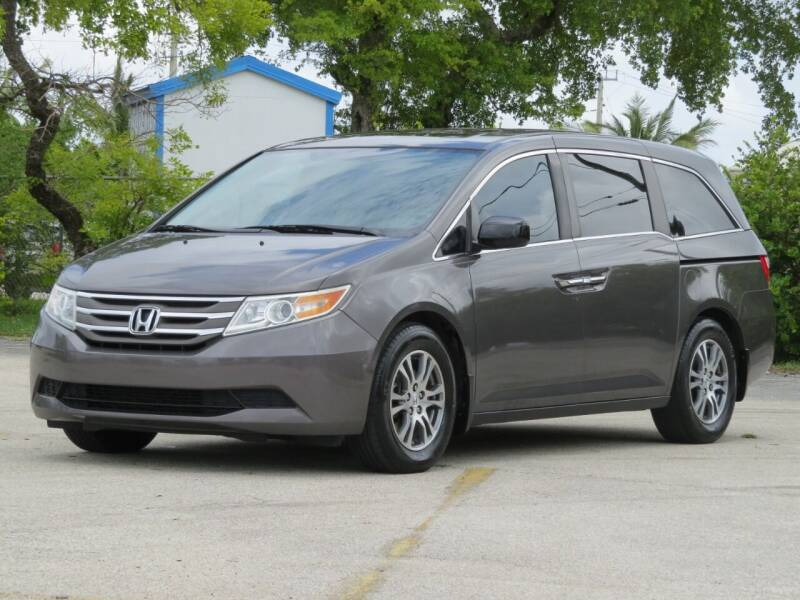 2013 Honda Odyssey for sale at DK Auto Sales in Hollywood FL