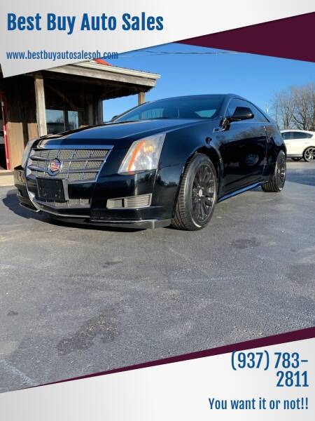 2011 Cadillac CTS for sale at Best Buy Auto Sales in Midland OH