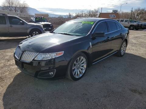2009 Lincoln MKS for sale at Canyon View Auto Sales in Cedar City UT