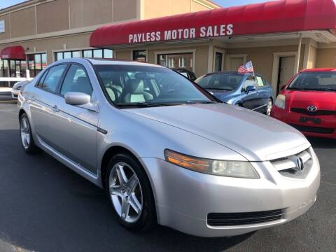 2006 Acura TL for sale at Payless Motor Sales LLC in Burlington NC