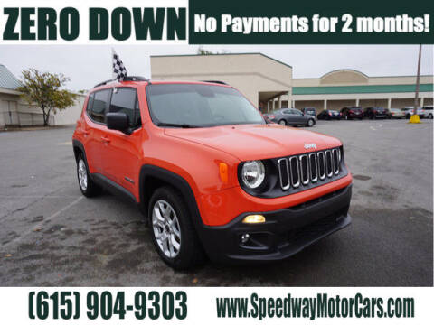 2016 Jeep Renegade for sale at Speedway Motors in Murfreesboro TN