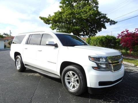 2015 Chevrolet Suburban for sale at SUPER DEAL MOTORS 441 in Hollywood FL