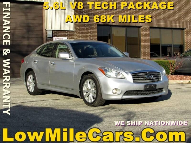 2011 Infiniti M56 for sale at A1 Auto Sales in Burr Ridge IL