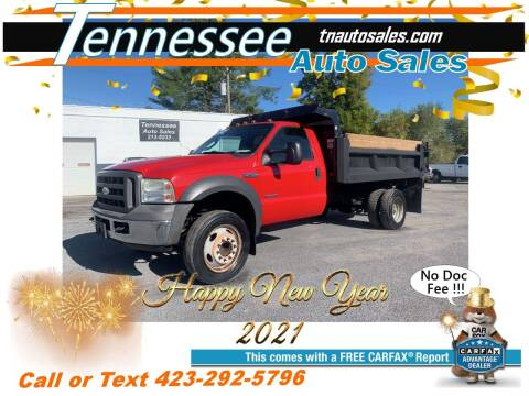 2005 Ford F-450 Super Duty for sale at Tennessee Auto Sales in Elizabethton TN