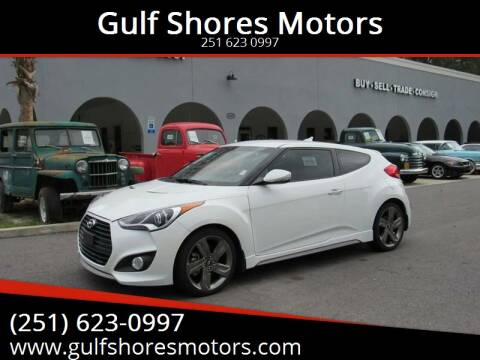 2015 Hyundai Veloster Turbo for sale at Gulf Shores Motors in Gulf Shores AL
