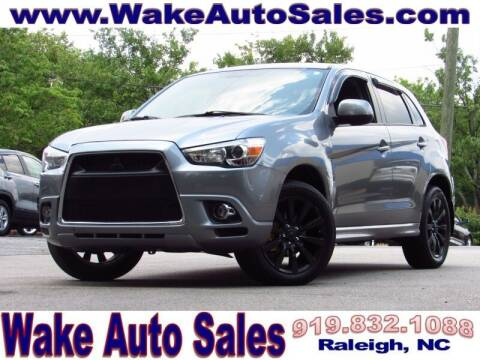2011 Mitsubishi Outlander Sport for sale at Wake Auto Sales Inc in Raleigh NC