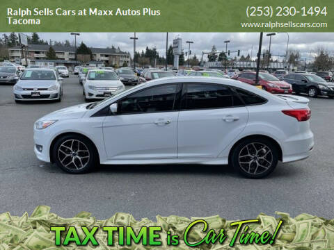 2015 Ford Focus for sale at Ralph Sells Cars at Maxx Autos Plus Tacoma in Tacoma WA