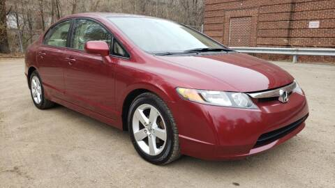 2008 Honda Civic for sale at Seran Auto Sales LLC in Pittsburgh PA