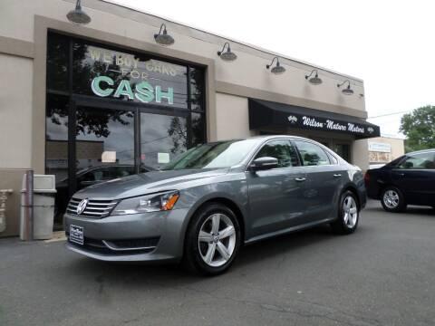 2014 Volkswagen Passat for sale at Wilson-Maturo Motors in New Haven CT