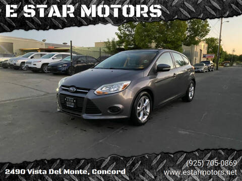 2013 Ford Focus for sale at E STAR MOTORS in Concord CA