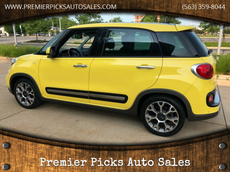 2014 FIAT 500L for sale at Premier Picks Auto Sales in Bettendorf IA