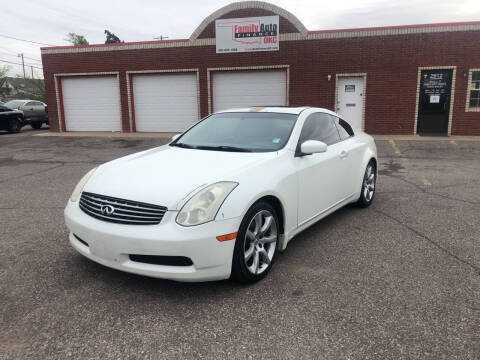 2006 Infiniti G35 for sale at Family Auto Finance OKC LLC in Oklahoma City OK