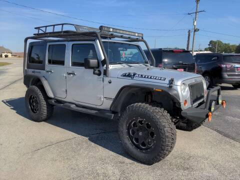 2011 Jeep Wrangler Unlimited for sale at Towell & Sons Auto Sales in Manila AR