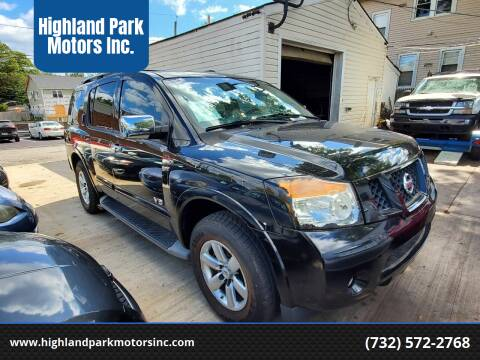 2008 Nissan Armada for sale at Highland Park Motors Inc. in Highland Park NJ