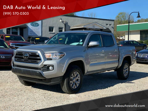 2019 Toyota Tacoma for sale at DAB Auto World & Leasing in Wake Forest NC
