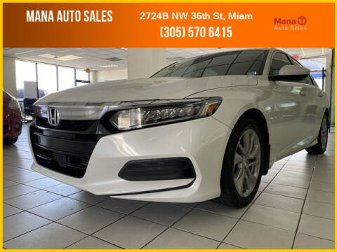 2018 Honda Accord for sale at MANA AUTO SALES in Miami FL