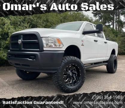 2018 RAM Ram Pickup 2500 for sale at Omar's Auto Sales in Martinez GA