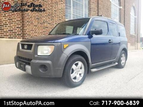2003 Honda Element for sale at 1st Stop Auto Sales in York PA