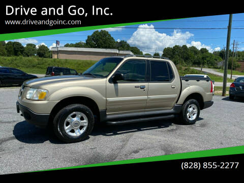 2002 Ford Explorer Sport Trac for sale at Drive and Go, Inc. in Hickory NC
