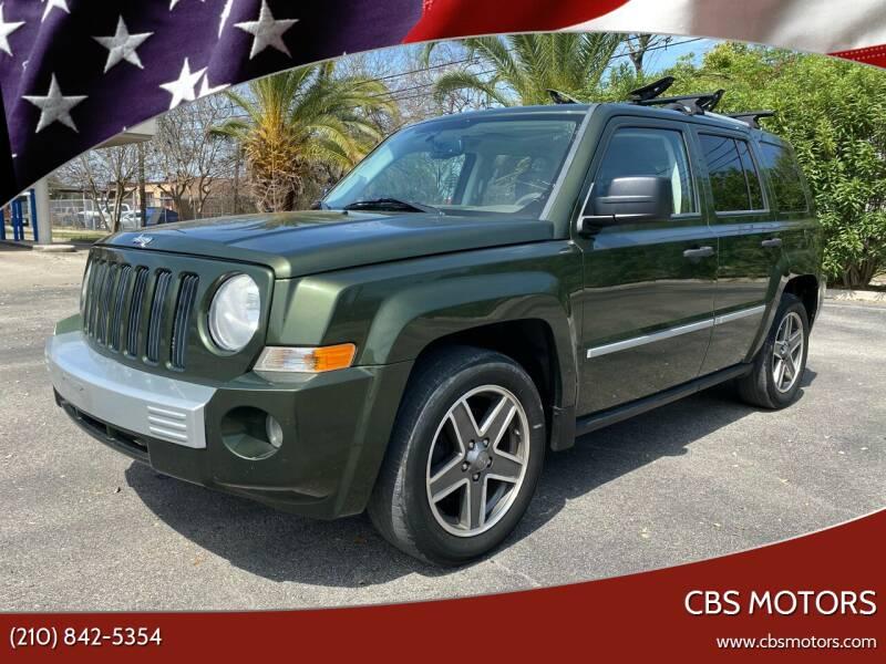 2008 Jeep Patriot for sale at CBS MOTORS in San Antonio TX