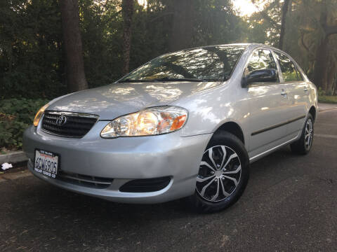 2008 Toyota Corolla for sale at Valley Coach Co Sales & Lsng in Van Nuys CA
