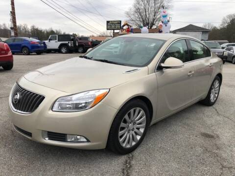 2012 Buick Regal for sale at Cj king of car loans/JJ's Best Auto Sales in Troy MI
