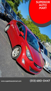 2013 Hyundai Elantra for sale at SUPERIOR AUTO MART in Amelia OH